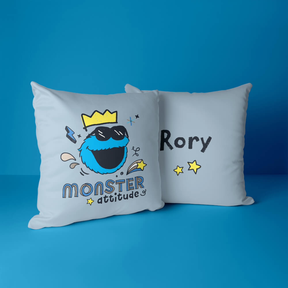 Sesame Street - personalised cushions by Custom Gifts
