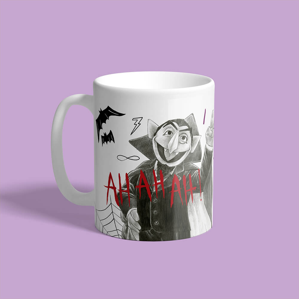 Personalised mugs from Custom Gifts.